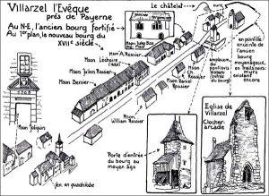 Carte de Villarzel l'Evêque
